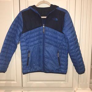 North Face boy's reversible coat